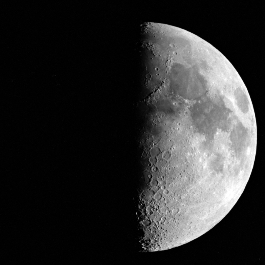 Image result for first quarter moon